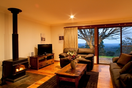 Cosy winter fires in the Jungle Lodge