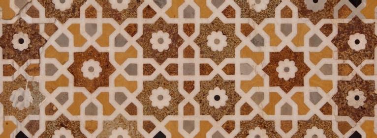 India Rajasthan Mughal garden detail