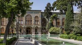 Iran, Tehran - Golestan Palace garden