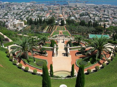 Israel, Haifa - Bahai Gardens