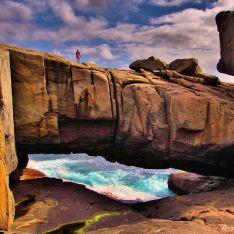 Natural Bridge in Torndirrup National Park