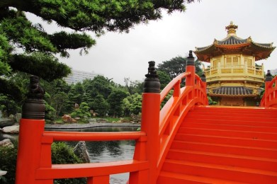China Vermillion-Zi-Wu-bridge-leading-to-Pavilion-of-Absolute-Perfection