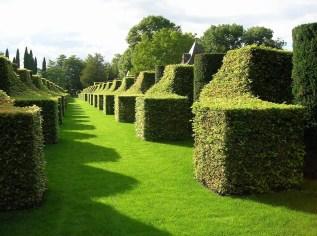 Eyrignac garden in the Dordogne, France