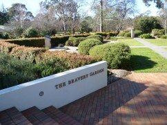 The Bravery Garden, Government House Canberra