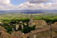 Village of Bonnieux, Luberon, France by K. Hellstrom