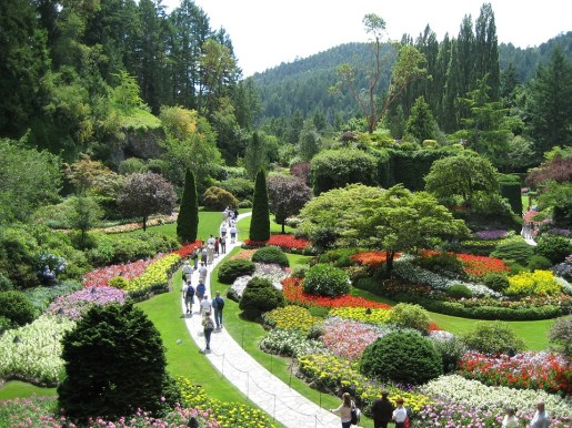 Canada, British Columbia - Butchart Gardens Photo skeeze via Pixabay