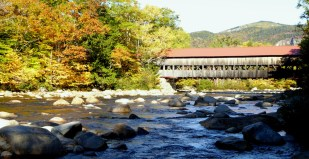 Covered bridge, White Mountains