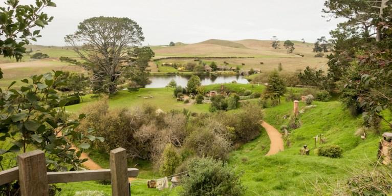 'Hobbiton' in Matamata New Zealand. Photo Adam Purves