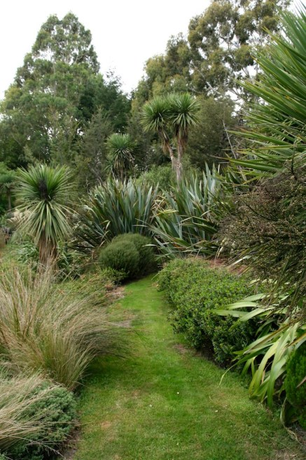 New Zealand garden near Christchurch
