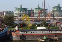 UK - London garden barges