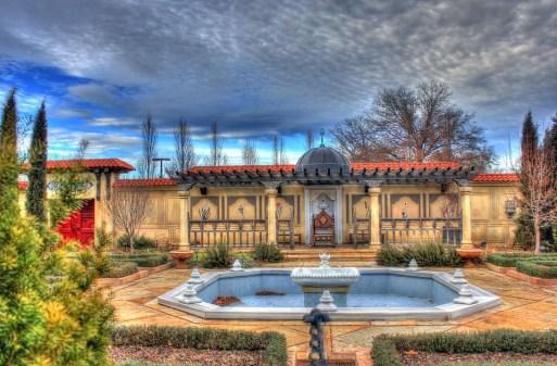 USA, Missouri St Louis Botanical Garden