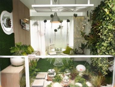 Balcony Garden 'Rock Paradise' Design Alan Wong. Singapore Garden Festival 2014