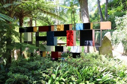 Colourful sculpture Monte Palace Tropical Gardens, Madeira. Photo Fiona Ericsson