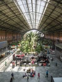 Madrid Station gardens. Photo Farrokh_Bulsara