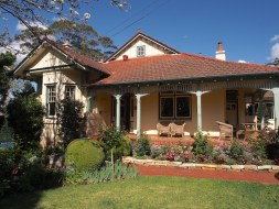 North Shore Sydney handsome federation house