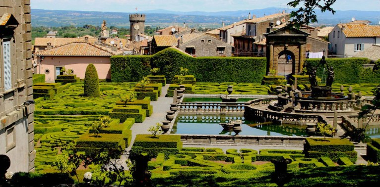 Villa Lante, Italy. Photo David Henderson