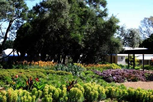 Rick Eckersley garden, Euroa