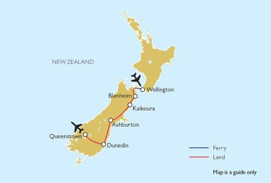 Private Gardens of New Zealand Tour Itinerary