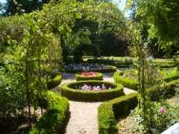 George Sand's Garden in Nohant. Photo SiefkinDR