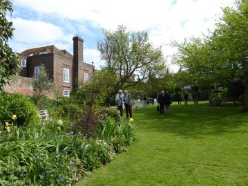 Henry James' garden at Lamb House. Photo CateGleeson