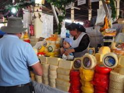 Market sights, tastes and smells