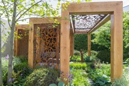 The Morgan Stanley Garden for Great Ormond Street Hospital. Designed by Chris Beardshaw. Sponsored by: Morgan Stanley. RHS Chelsea Flower Show 2016.
