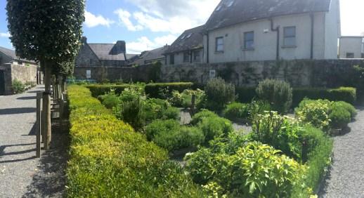 Garden at Rothe House, Kilkenny, Ireland. Photo Ra Stewart