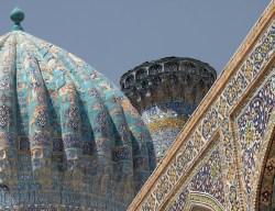 Islamic Buildings Samarkand, Uzbekistan