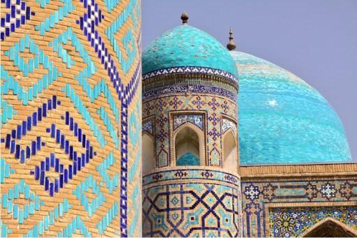 Registan Square madrasas, Samarkand, Uzbekistan