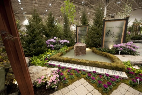 Canada Blooms 2016 garden