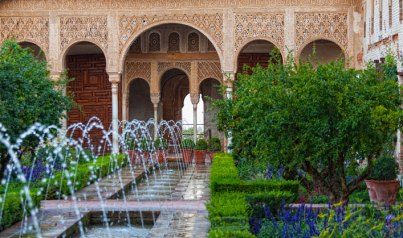 Gardens of the Generalife, Granada