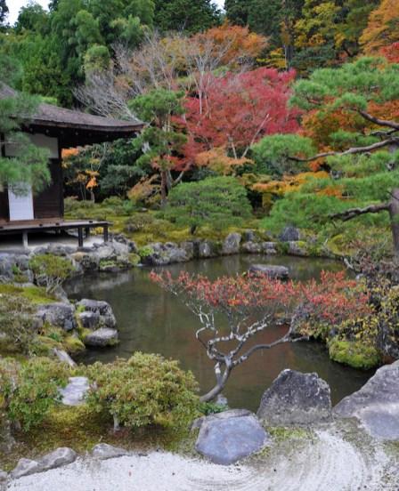 Ginkaku-ji (Temple of the Silver Pavilion). Image: Jim Fogarty
