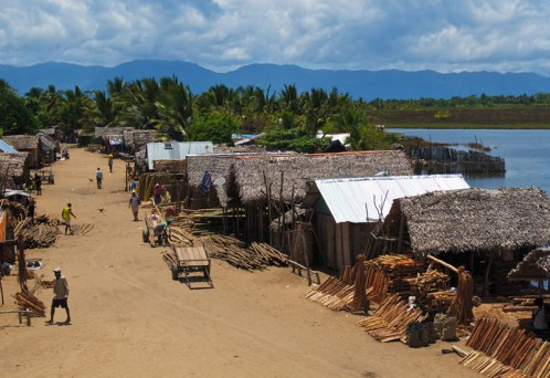 The village of Maroantsetra, located at the far end of the Bay of Antongil, near the mouth of the Antainambalana River, is charming and described as 'Madagascar at its most authentic', enjoys both river and ocean views.