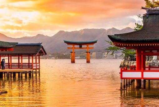 Miyajima, The famous Floating Torii gate