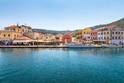 The port of Gaios, Paxos