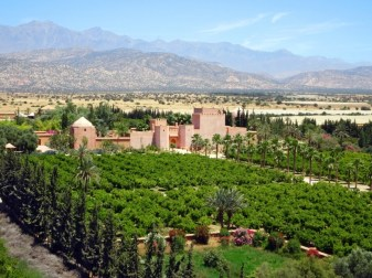 Claudio Bravo Palace and gardens in Taroudant. Image Sabrina Hahn