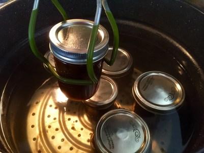 Jars in water