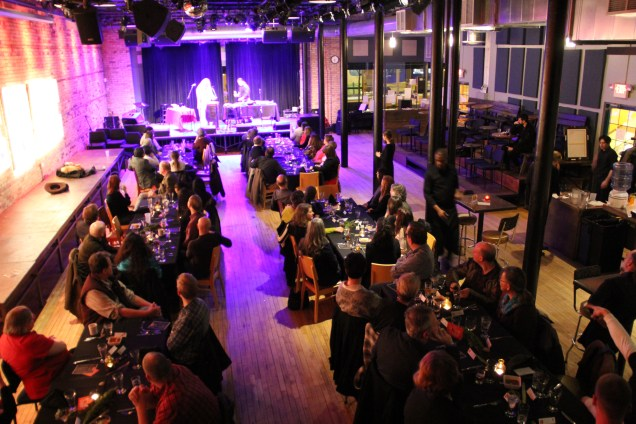 Bedlam Lowertown, during dinner. Photo by Elizabeth Hoover