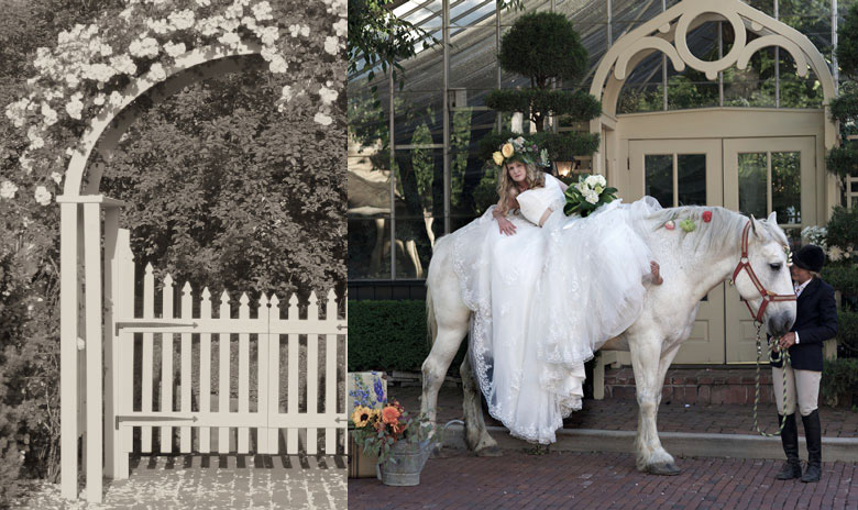 The Conservatory Garden Wedding Storybook Wedding
