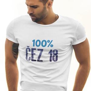 100 Čez 18, majica