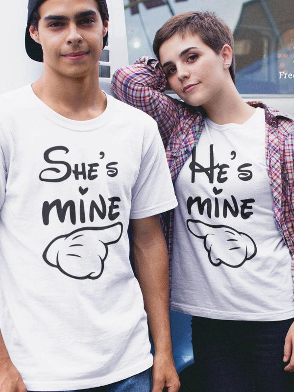 Komplet za pare he's mine she's mine