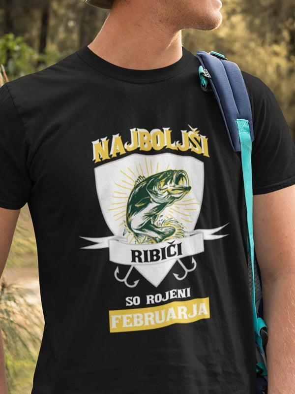 Najboljši ribiči so rojeni februarja, majica