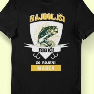 Najboljši ribiči so rojeni marca, majice