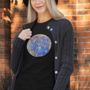 Vesolje Merkur, majica vesolje