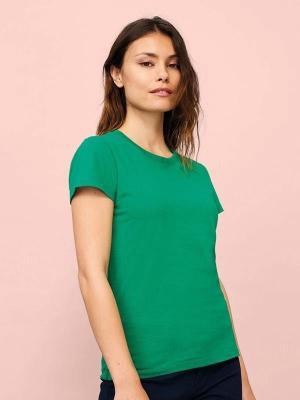 Majica brez tiska za ženske