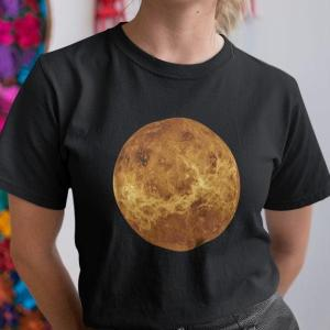 Vesolje Venera, majica o vesolju