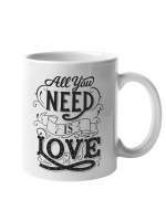 Skodelica All you need is love