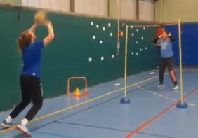 Jeu : Volley-goal