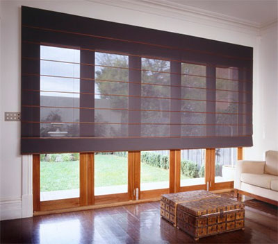 mørklægning med rulle gardiner