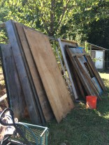 free wood from the fort